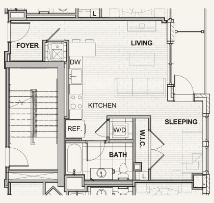 525 Lafayette Floor Plans
